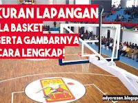 Ukuran Lapangan Basket Beserta Gambarnya LENGKAP