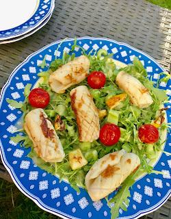 Katis Rezeptgeschichten, Pulpo-Salat, gegrillter Pulpo