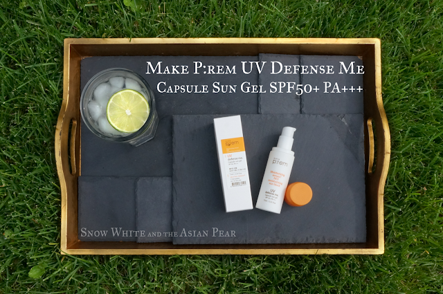 Make P:rem UV Defense Me Capsule Sun Gel SPF50+ PA+++
