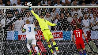 Empate frustrante para a Inglaterra e esperançoso para a Eslováquia
