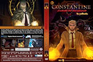CARATULA Constantine: City of Demons – The Movie / Constantine ciudad de demonios la pelicula 2018 [ COVER DVD]