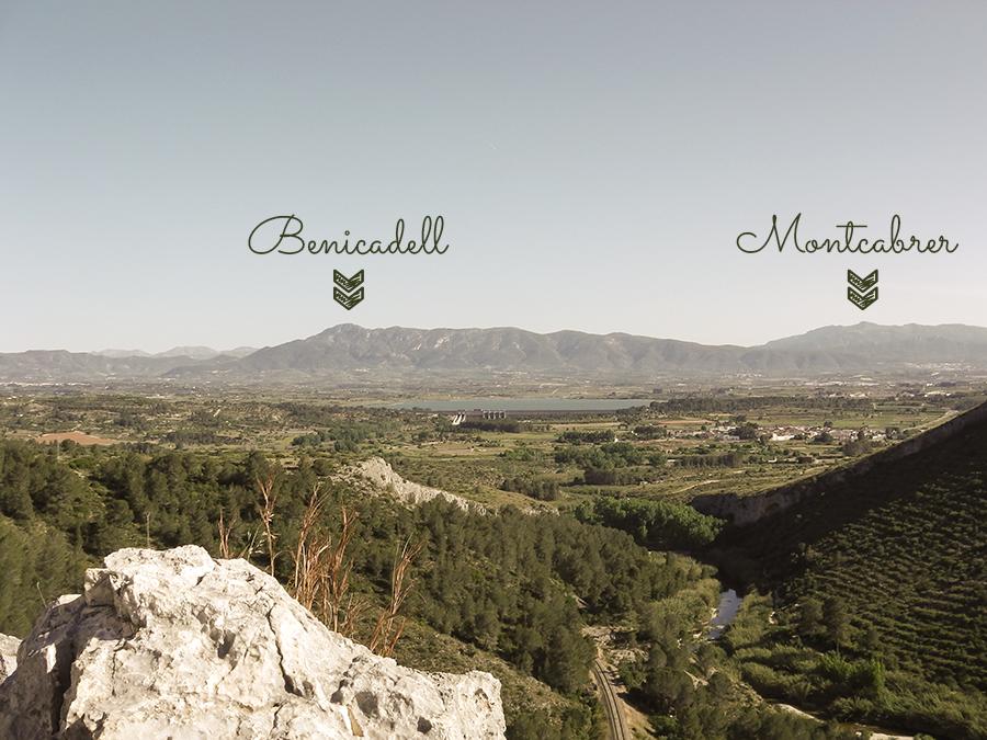 Vistas al Benicadell y al Montcabrer
