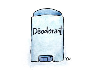 déodorant by Yukié Matsushita