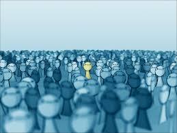 ultrapassando multidão