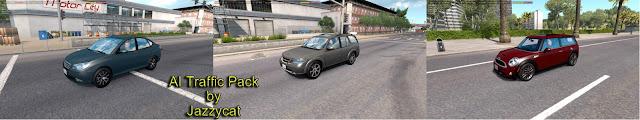 ats ai traffic pack v5.9 screenshots 1, Hyundai Elantra, Saab 9-7x, Mini Clubman