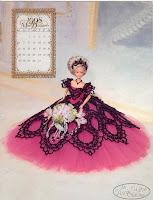 vestido de princesa para bonecas