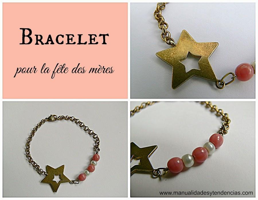 bracelet pour la fête des mères