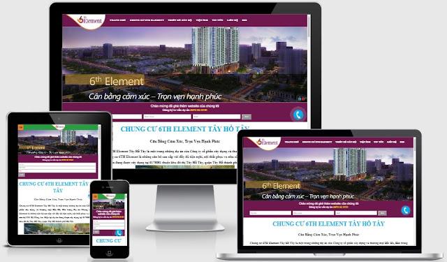 Share theme blogspot bất động sản 1 dự án CHUẨN SEO
