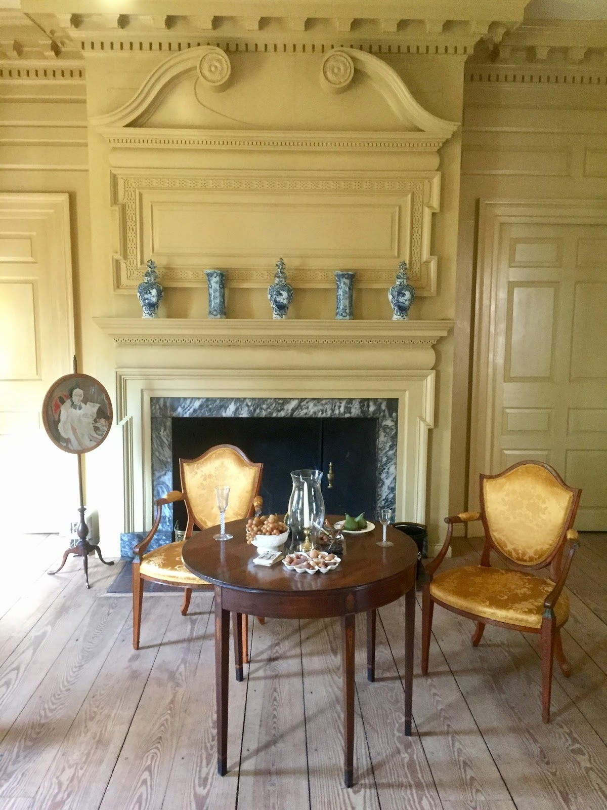 two nerdy history girls visiting the c1765 schuyler mansion in