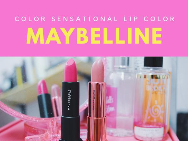 Maybelline Color Sensational Lip Color : 2 Warna Feveret terbaru!