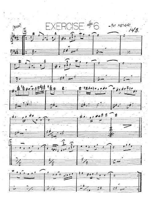Partitura Trompeta Pat Metheny