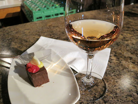 Vineland Estates Cabernet Franc Icewine paired with Dark Chocolate Paté