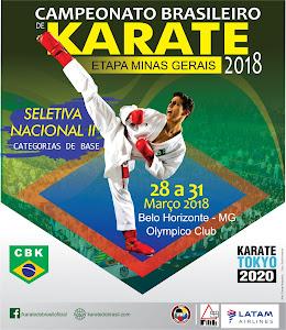 Campeonato Brasileiro de Karate - Fase Classificatória MG