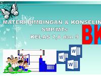 Materi Bimbingan dan Konseling kelas 7,8 dan 9 SMP/MTs