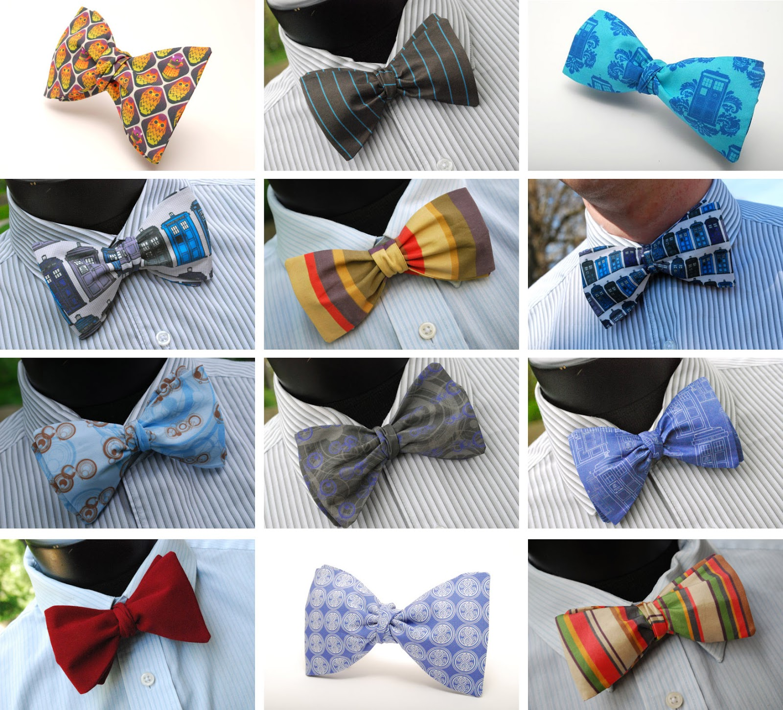 Making My 11th Doctor Costume: Bow ties are getting cooler!
