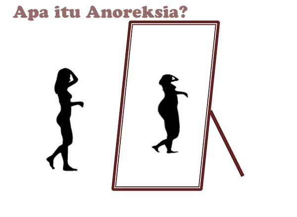 anoreksia rasa takut kegemukan yang berlebihan