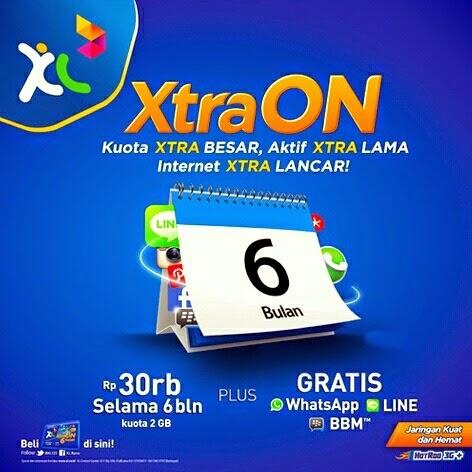 XL Luncurkan Paket Xtra ON