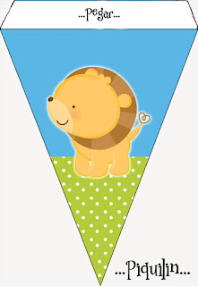 Banner o Estandarte para Imprimir Gratis de Tiernos Bebés de la Selva.