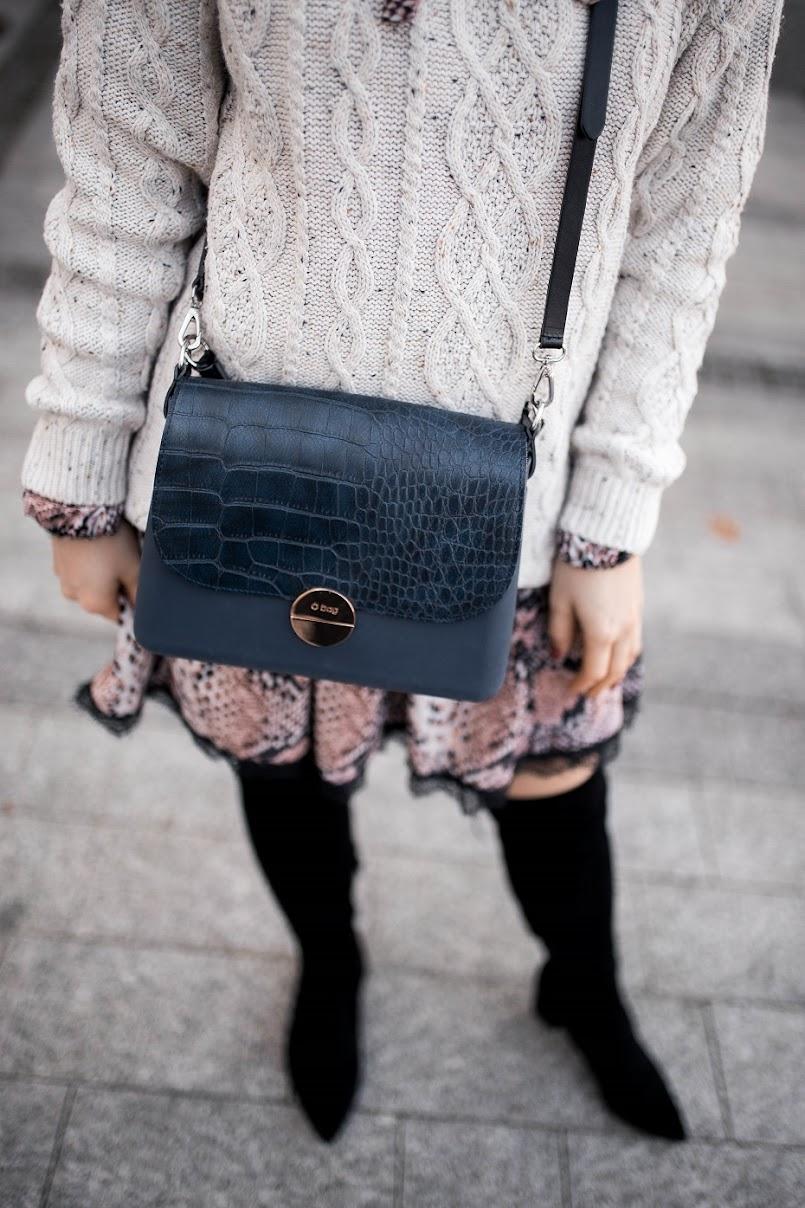 Stylizacja z torbą O bag Glam