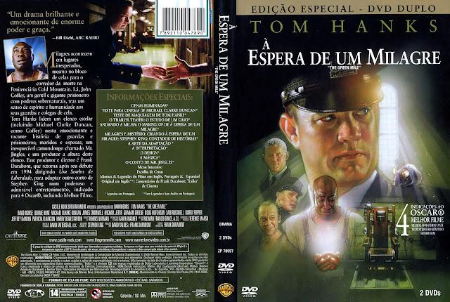 Capa DVD À Espera de um Milagre
