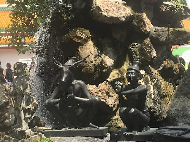 Khao Mor or rock gardens wat pho