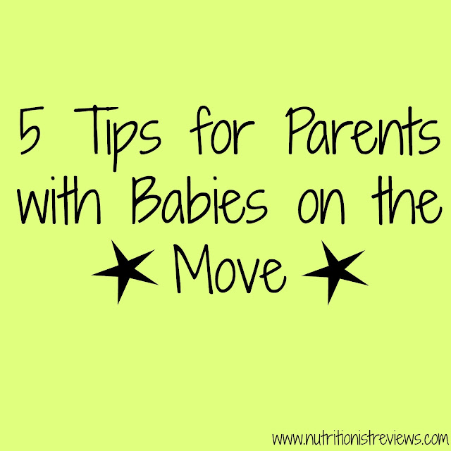 5 Tips for Parents with Babies on the Move