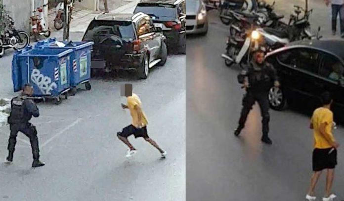 Νέο ΒΙΝΤΕΟ με τον Αιγύπτιο που μαχαιρώνει τον αστυνομικό στην Καλαμάτα – Στην Αμερική θα τον είχαν πυροβολήσει στο δόξα πατρί !