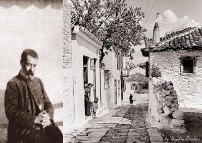 Σοκάκια και σπίτια στην Σκιάθο (Ελιά)