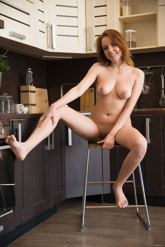 euinz0dfjiy0 EroticBeauty Candy Red Hot In The Kitchen