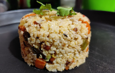Proso Millet Upma Recipe