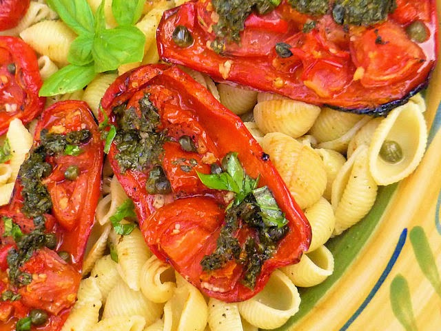 Pepper, Tomato, Basil Pasta