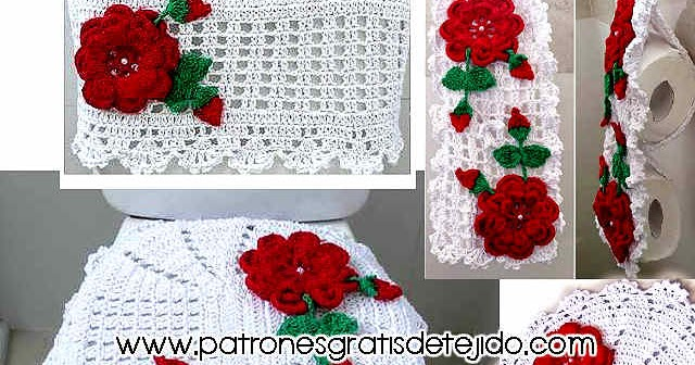 Decorar El Bao Set De Bao T Crochet Crochet