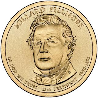 Millard Fillmore Presidential Dollar