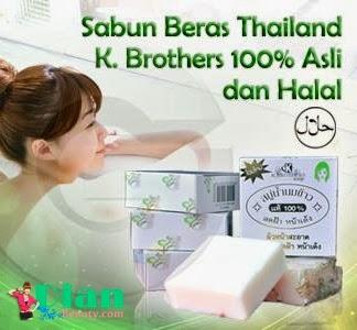 Sabun Beras Susu ASLI 100% Thailand