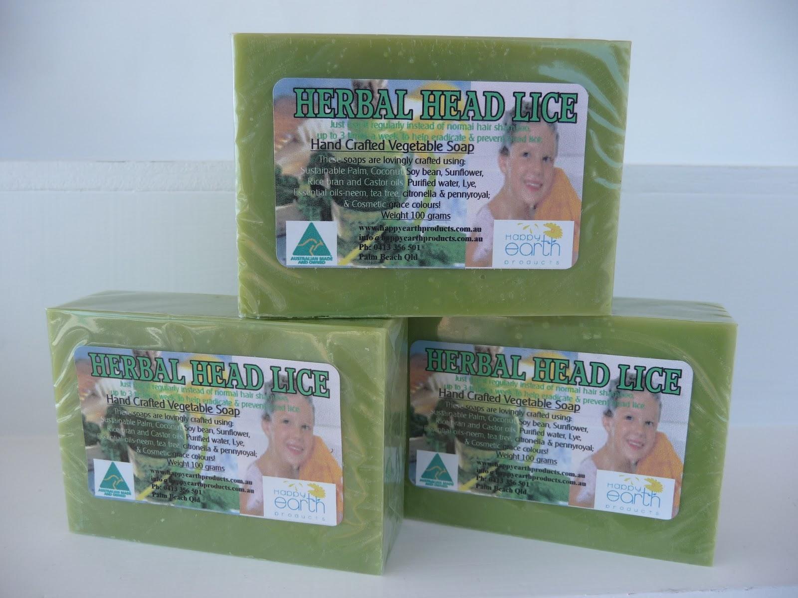 Herbal Head Lice Soap