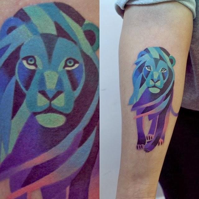 Lindas Tatuagens Feitas Por Sasha Unisex Jovem Errado