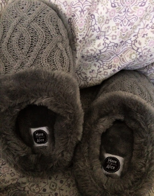 Women Winter Plush Bedroom Slippers