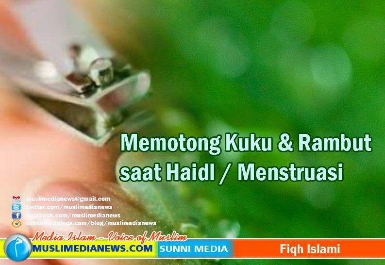 Muslimedianews.com ~ Haidl atau menstruasi dialami oleh kaum wanita dalam  jangka waktu kadang singkat (sehari semalam) namun kadang sampai 15 hari. 8c5921d481