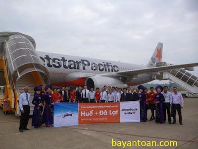 Jetstar mở đường bay Huế-Cam Ranh, giá vé chỉ 31.000 đồng