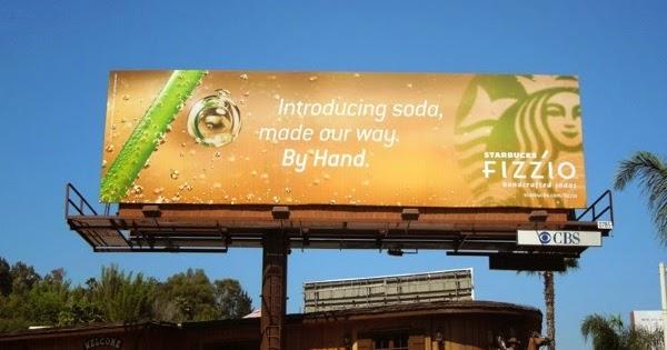 Daily Billboard Starbucks Refreshing Beverage Billboards