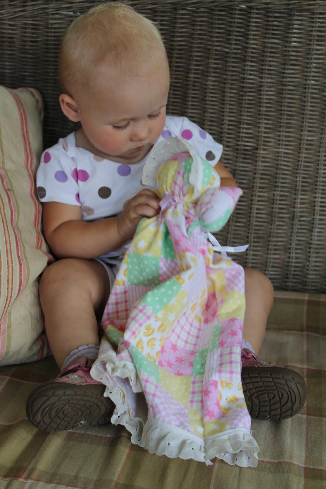 Born Imaginative Pillowcase Doll Upcycled