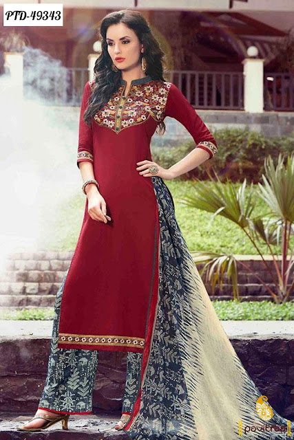Latest Fashion Pakistani Palazzo Salwar Kameez 2016 Online ...