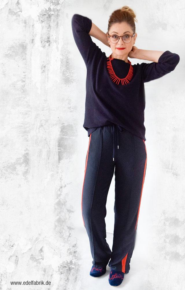 Trendstyle Sporthose elegant stylen