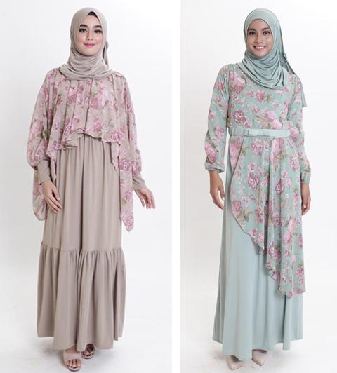 model baju vintage muslim