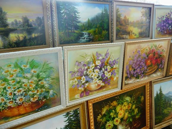 Моршин. Выставка-продажа картин