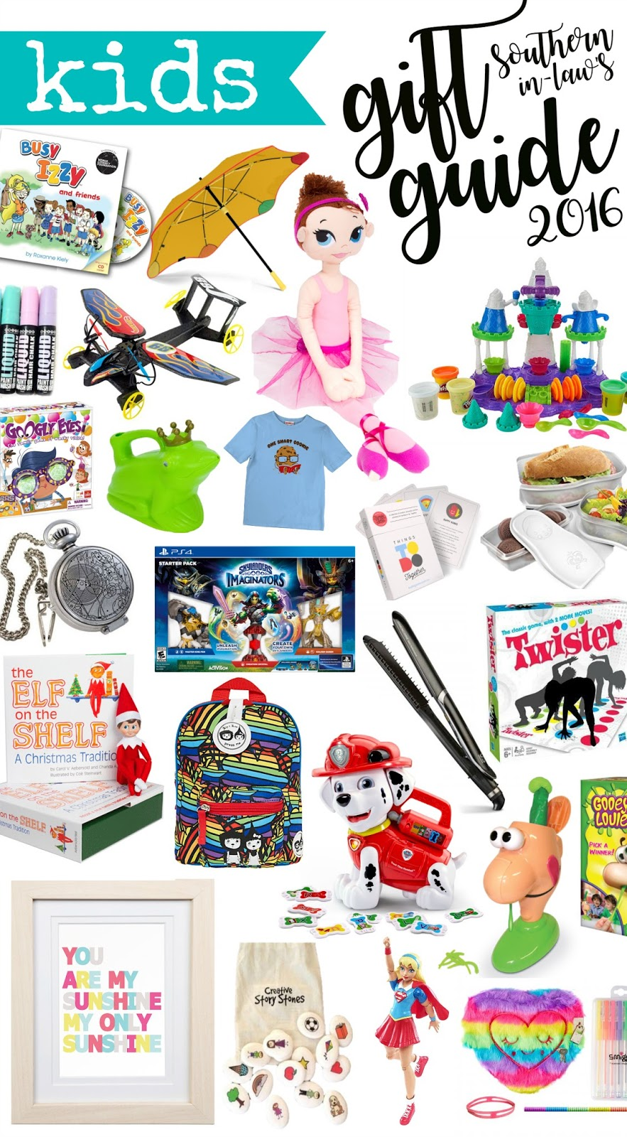 Kids Gift Guide 2016 - Children's Christmas Gift Ideas for All Ages