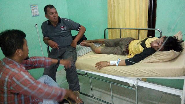 Salip Mobil Batubara,Wartawan Prapos Kecelakaan