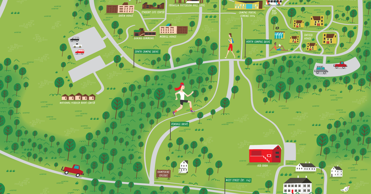 List of Synonyms and Antonyms of the Word hampshire college map