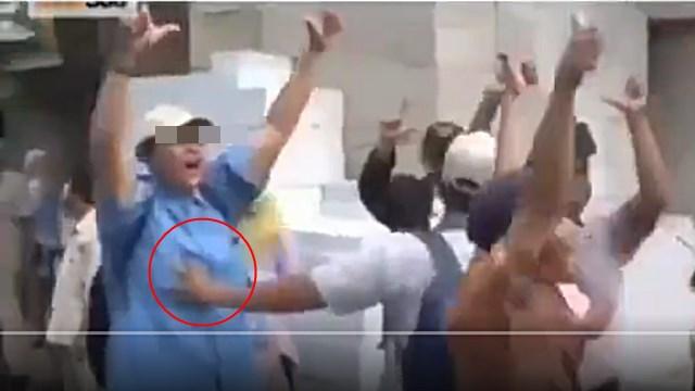 Video Pelecehan Seksual yang Dilakukan Pendukung 01 terhadap Wanita yang Menyambut Prabowo