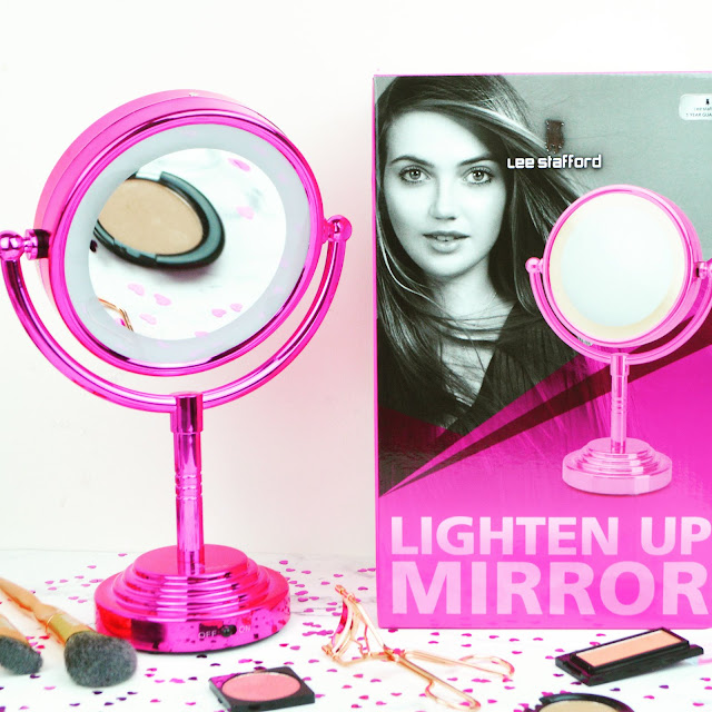 Lovelaughslipstick Blog - Lee Stafford Lighten Up Mirror Review and Giveaway